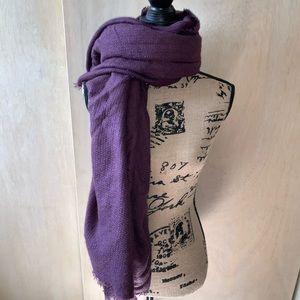 🌹NEW LISTING purple wrap scarf